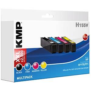 Tinte - HP - Multipack - 970/971 - refill KMP PRINTTECHNIK AG 1902,4850