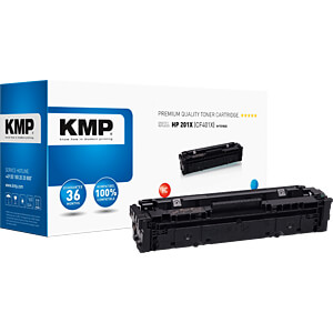 Toner, HP, cyan, 201X, reconditionné KMP PRINTTECHNIK AG 2536,3003