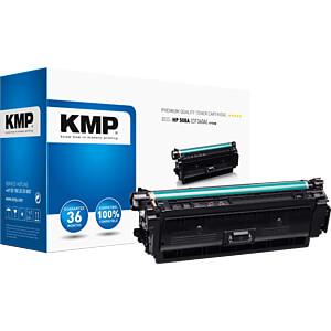 Toner - HP - schwarz - 508A - rebuilt KMP PRINTTECHNIK AG 2537,0000