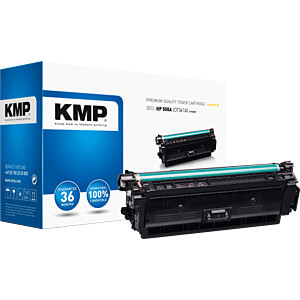 Toner - HP - cyan - 508A - rebuilt KMP PRINTTECHNIK AG 2537,0003