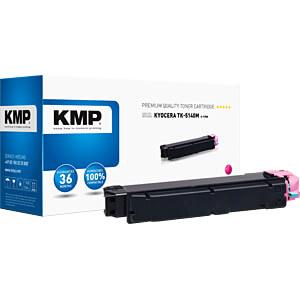 Toner - Kyocera - magenta - TK5140M- rebuilt KMP PRINTTECHNIK AG 2910,0006