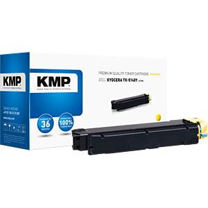 Toner - Kyocera - gelb - TK5140Y- rebuilt KMP PRINTTECHNIK AG 2910,0009