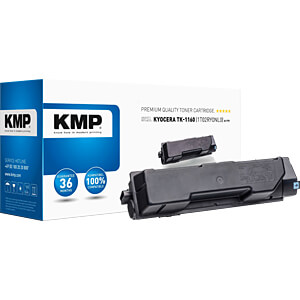 Toner - Kyocera - schwarz - TK1160 - rebuilt KMP PRINTTECHNIK AG 2913,0000