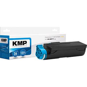 Toner - OKI - schwarz - 45807111 - rebuilt KMP PRINTTECHNIK AG 3359,3000