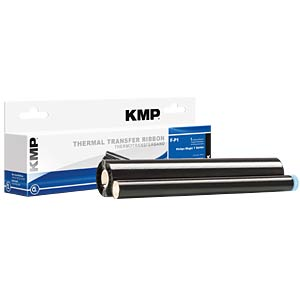 Fax Ribbon - Philips - black - PFA 322 - rebuilt KMP PRINTTECHNIK AG 71000,0008