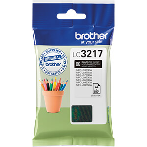 Tinte - Brother - schwarz - LC3217 - original BROTHER LC3217BK