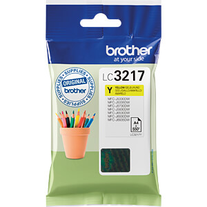 Tinte - Brother - gelb - LC3217 - original BROTHER LC3217Y