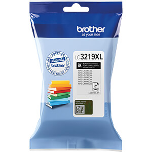Tinte - Brother - schwarz - LC3219XL - original BROTHER LC3219XLBK
