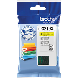 Tinte - Brother - gelb - LC3219XL - original BROTHER LC3219XLY