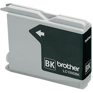 Tinte - Brother - schwarz - LC1000 - original BROTHER LC1000BK