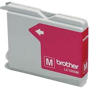 Tinte - Brother - magenta - LC1000 - original BROTHER LC1000M