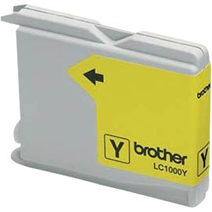 Tinte - Brother - gelb - LC1000 - original BROTHER LC1000Y