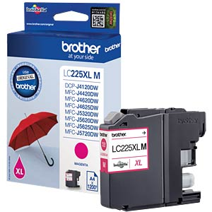 Tinte - Brother - magenta - LC225XL - original BROTHER LC225XLM