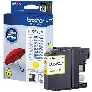Tinte - Brother - gelb - LC225XL - original BROTHER LC225XLY