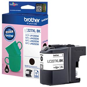 Tinte - Brother - schwarz - LC227XL - original BROTHER LC227XLBK
