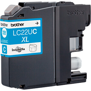 Tinte - Brother - cyan - LC22UC - original BROTHER LC22UC