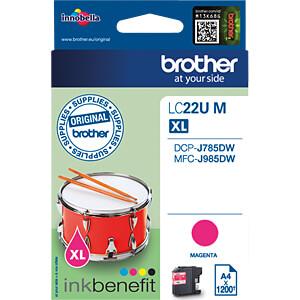 Tinte - Brother - magenta - LC22UM - original BROTHER LC22UM