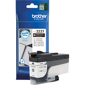 Tinte - Brother - schwarz - LC3237 - original BROTHER LC-3237BK