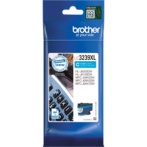 Tinte - Brother - cyan - LC3237XL - original BROTHER LC3239XLC