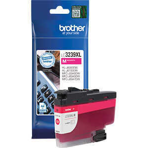 Tinte - Brother - magenta - LC3237XL - original BROTHER LC3239XLM