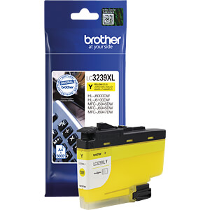 Tinte - Brother - gelb - LC3237XL - original BROTHER LC3239XLY