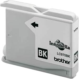 Tinte - Brother - schwarz - LC970 - original BROTHER LC970BK