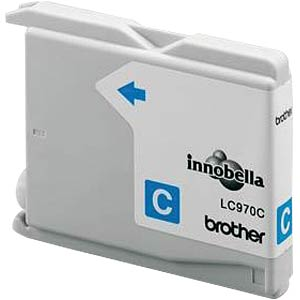 Tinte - Brother - cyan - LC970 - original BROTHER LC970C