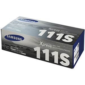 Toner for SAMSUNG Xpress M2022, black SAMSUNG MLT-D111S/ELS