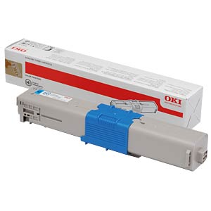 Toner - OKI - cyan - C331 - original OKI 44469706