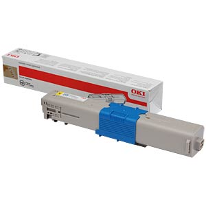 Toner - OKI - yellow - C301/302 original OKI 44973533