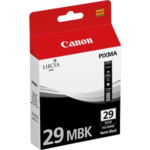 Tinte, mattschwarz - PGI-29 - original CANON 4868B001