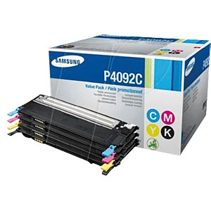 Toner - Samsung - Multipack - P4092C - original SAMSUNG CLT-P4092C/ELS