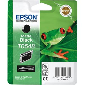 Matt black: Epson Stylus Photo R800/R1800 EPSON C13T05484010