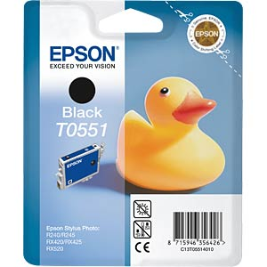 Black: Epson Stylus Photo RX420/425... EPSON C13T05514010