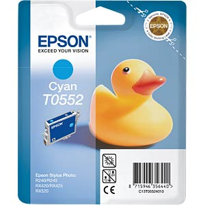 Tinte - Epson - cyan - T0552 - original EPSON C13T05524010