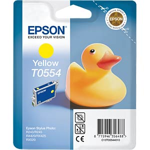 Yellow: Epson Stylus Photo RX420/RX425... EPSON C13T05544010