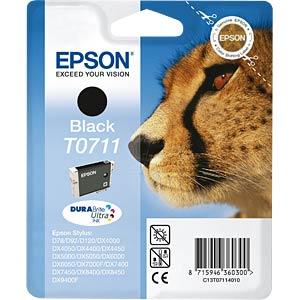 Tinte - Epson - schwarz - T0711 - original EPSON C13T07114011
