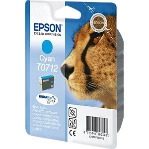 Tinte - Epson - cyan - T0712 - original EPSON C13T07124011