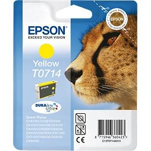 Yellow: Epson Stylus D78/D92/DX4000... EPSON C13T07144011