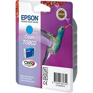 Tinte - Epson - cyan - T0802 - original EPSON C13T08024011