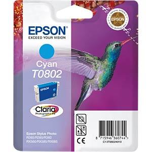 Cyan: Epson Stylus Photo R265/R360 EPSON C13T08024011