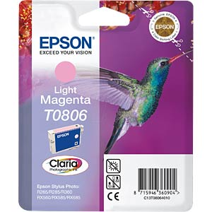Light magenta: Epson Stylus Photo R265/R360 EPSON C13T08064011