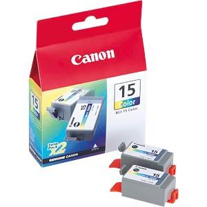 Tinte - Canon - 3-farbig - BCI-15 - original CANON 8191A002