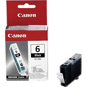 Tinte, schwarz - BCI-6 - original CANON 4705A002