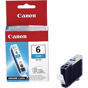 Tinte - Canon - cyan - BCI-6 - original CANON 4706A002