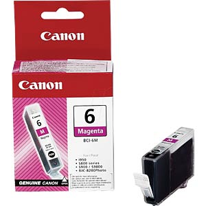 Tinte, magenta - BCI-6 - original CANON 4707A002