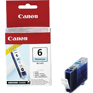 Tinte - Canon - photocyan - BCI-6 - original CANON 4709A002