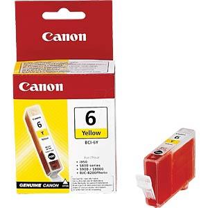 Tinte, gelb - BCI-6 - original CANON 4708A002