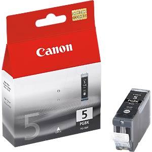 Tinte, schwarz - PGI-5 - original CANON 0628B001