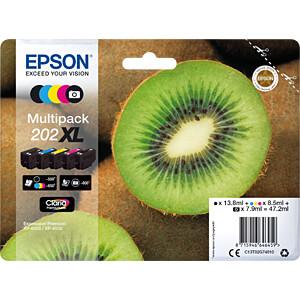 Tinte - Epson - 5-farbig - 202XL - original EPSON C13T02G74010